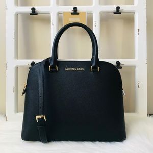 MK Cindy Large Dome Satchel